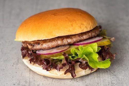 a) Beef Burger