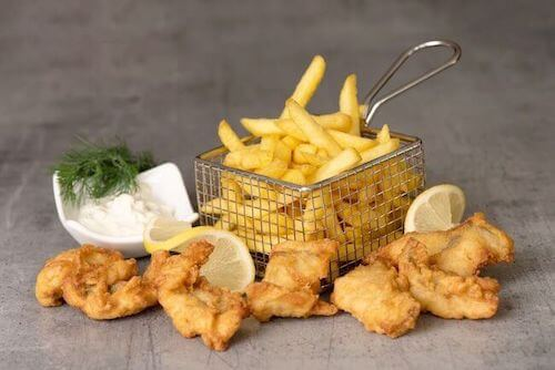 Fisch and Chips Tartarsauce
